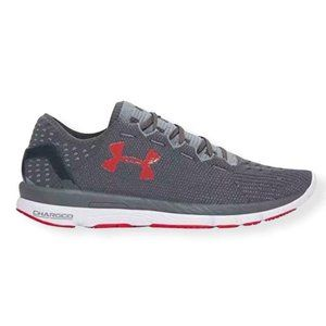 Under Armour Speed form Gray/Red Size 9.5 Men's Sneakers.